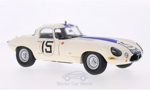 Jaguar E-Type 1/18 Paragon Lightweight RHD No.15 Briggs Cunningham 24h Le Mans 1963 5115WK B.Cunningham/B.Grossman miniature