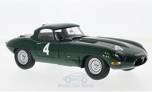 Jaguar E-Type 1/18 Paragon Lightweight RHD No.4 Scott-Brown Memorial Snetterton P.Sutcliffe miniature