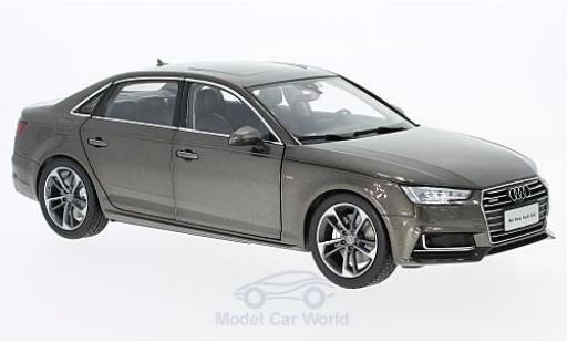 Audi A4 1/18 Paudi L brown 2017 ohne Vitrine