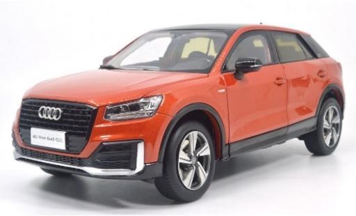 Audi Q2 1/18 Paudi L metallise orange 2018 diecast model cars