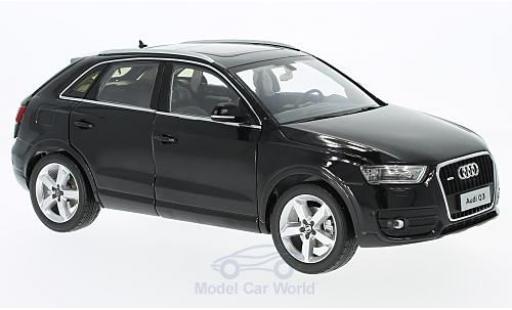 Audi Q3 1/18 Paudi noire 2014 miniature