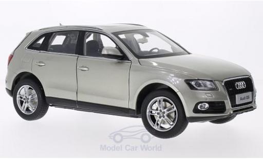 Audi Q5 1/18 Paudi métallisé beige 2014 miniature