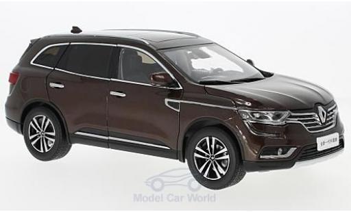 Renault Koleos 1/18 Paudi metallise marron 2016 miniature