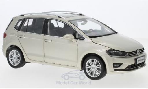 Volkswagen Golf 1/18 Paudi Sportsvan metallise beige 2018 diecast model cars