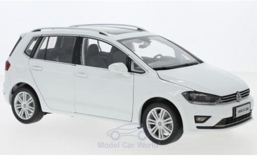 Volkswagen Golf 1/18 Paudi Sportsvan white 2018 diecast