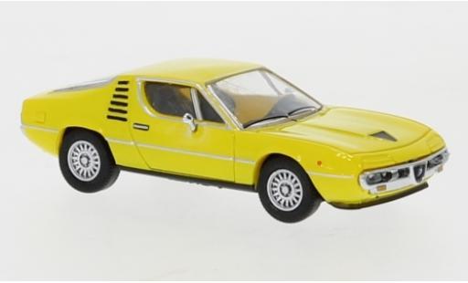 Alfa Romeo Montreal 1/87 PCX87 jaune 1970 miniature