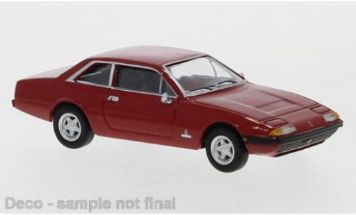 Ferrari 365 1/87 PCX87 GT4 2+2 rouge 1972 miniature