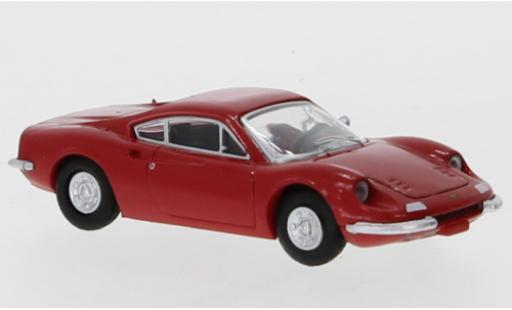 Ferrari Dino 1/87 PCX87 246 GT rouge 1969 miniature