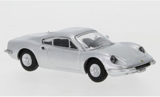 Ferrari Dino 1/87 PCX87 246 GT grise 1969 miniature