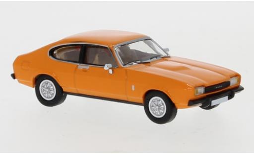Ford Capri 1/87 PCX87 MK II orange 1974 diecast model cars