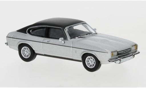 Ford Capri 1/87 PCX87 MK II grise/matt-noire 1974 miniature