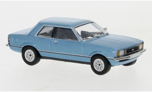 Ford Taunus 1/87 PCX87 TC2 metallise bleue 1976 miniature