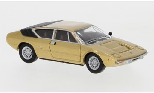 Lamborghini Urraco 1/87 PCX87 metallise gold 1973 miniature