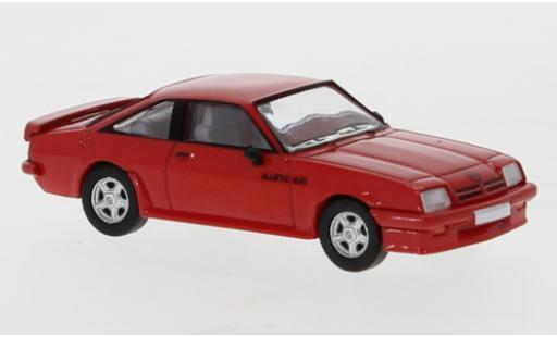 Opel Manta 1/87 PCX87 B GSI rouge 1984 miniature