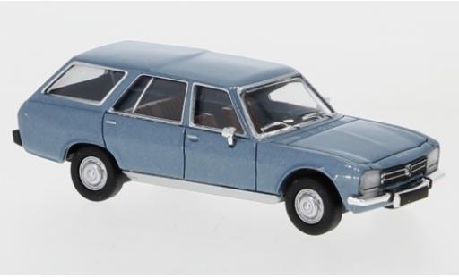 Peugeot 504 1/87 PCX87 Break metallise blue 1978 diecast model cars