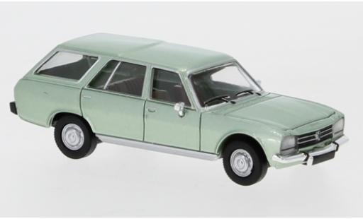 Peugeot 504 1/87 PCX87 Break metallise verte 1978 miniature