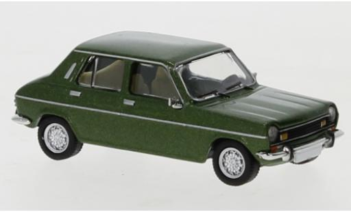 Simca 1100 1/87 PCX87 metallise verte 1975 miniature
