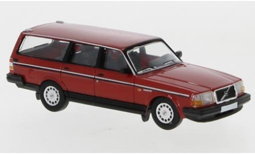 Volvo 240 1/87 PCX87 GL Kombi red 1989 diecast model cars