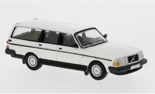 Volvo 240 1/87 PCX87 GL Kombi white 1989 diecast model cars