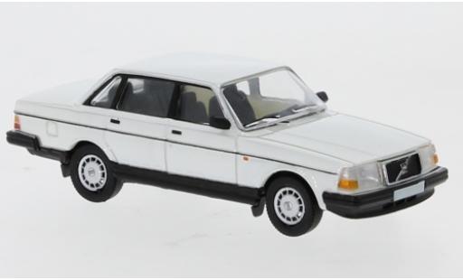 Volvo 240 1/87 PCX87 white 1989 diecast model cars