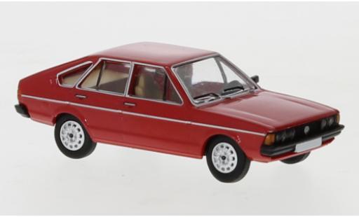 Volkswagen Passat 1/87 PCX87 B1 red 1977 diecast model cars