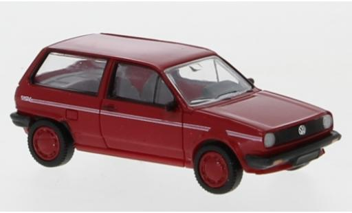 Volkswagen Polo 1/87 PCX87 II Fox rouge/Dekor 1985 miniature