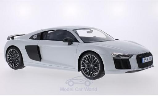 Audi R8 1/18 Premium ClassiXXs metallise grey/carbon 2015 diecast model cars