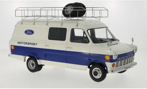 Ford Transit 1/18 Premium ClassiXXs MKI Motorsport 1970 miniature