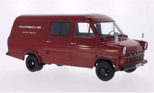 Ford Transit 1/18 Premium ClassiXXs MKI Kasten Porsche Racing Service 1965 miniature