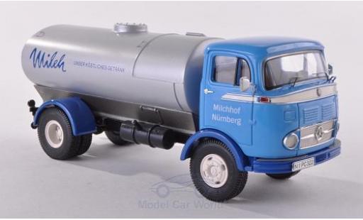 Mercedes LP 911 1/43 Premium ClassiXXs bleue Milchhof Nürnberg Tankwagen miniature