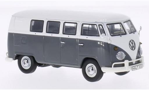 Volkswagen T1 1/43 Premium ClassiXXs Bus grau/weiss modellautos