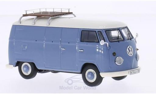 Volkswagen T1 B 1/43 Premium ClassiXXs Kasten bleue miniature