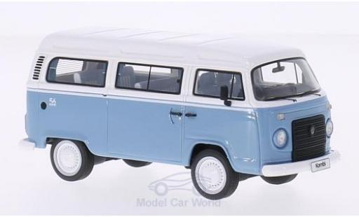 Volkswagen T2 B 1/43 Premium ClassiXXs c us razil bleue/blanche 2013 Last Edition miniature
