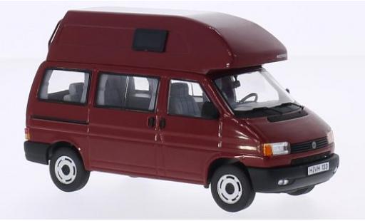 Volkswagen T4 1/43 Premium ClassiXXs California (Hochdach) rouge miniature