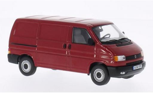 Volkswagen T4 1/43 Premium ClassiXXs rouge fourgon miniature