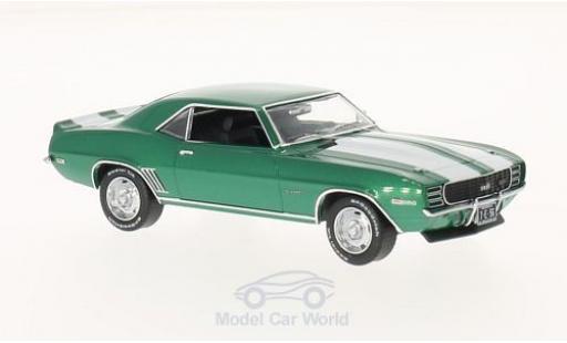 Chevrolet Camaro RS 1/43 Premium X metallise green/white 1969 diecast model cars