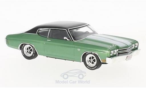 Chevrolet Chevelle 1970 1/43 Premium X SS metallise verte/noire miniature