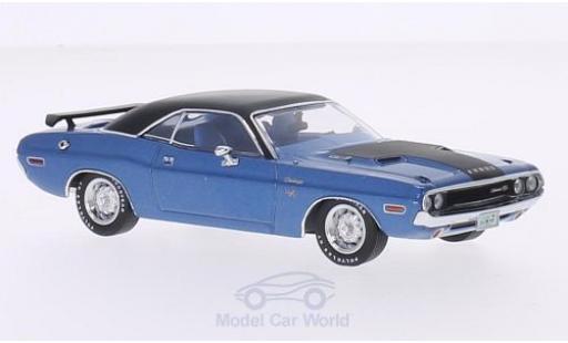 Dodge Challenger 1970 1/43 Premium X R/T metallise blue/matt-black diecast model cars