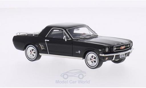 Ford Mustang 1/43 Premium X Mustero schwarz 1966 modellautos