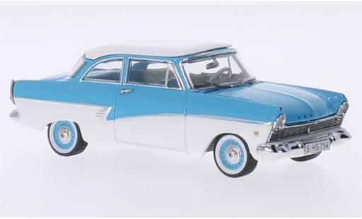 Ford Taunus 1/43 Premium X 17M bleue/blanche 1957
