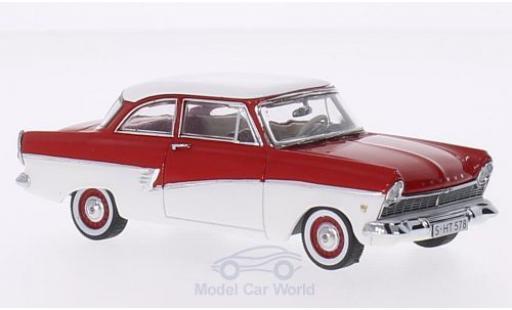 Ford Taunus 1957 1/43 Premium X 17M red/white diecast model cars