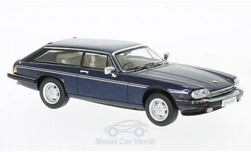 Jaguar XJS 1/43 Premium X Lynx Eventer metallise bleue RHD 1983 miniature