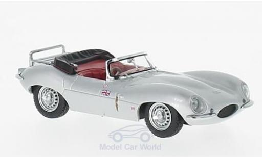 Jaguar XK SS 1/43 Premium X grey RHD 1957 diecast model cars