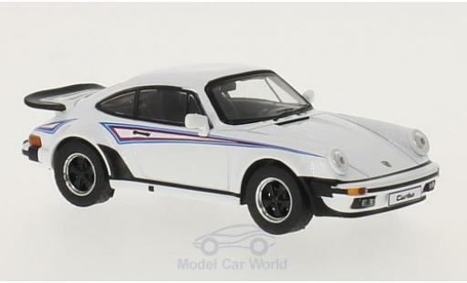 Porsche 930 Turbo 1/43 Premium X Turbo Martini Edition blanche/Dekor 1975 miniature
