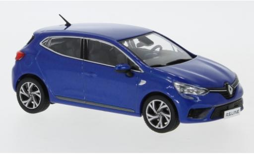 Renault Clio 1/43 Premium X RS Line metallise blue 2019 diecast model cars