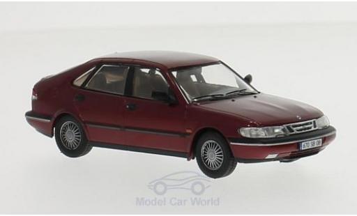 Saab 900 1/43 Premium X V6 metallic-dunkelrouge 1994
