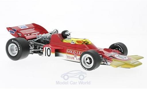 Lotus 72 1/18 Quartzo C No.10 Team Formel 1 GP Niederlande 1970 J.Rindt miniature