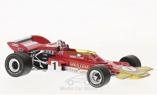 Lotus 72 1/43 Quartzo D No.1 Gold Leaf Formel 1 GP Frankreich 1971 E.Fittipaldi miniature