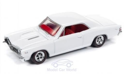 Chevrolet Chevelle 1/64 Racing Champions Mint SS blanche 1967 miniature