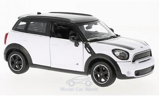 Mini Cooper S 1/24 Rastar Countryman (R60) blanche/noire miniature